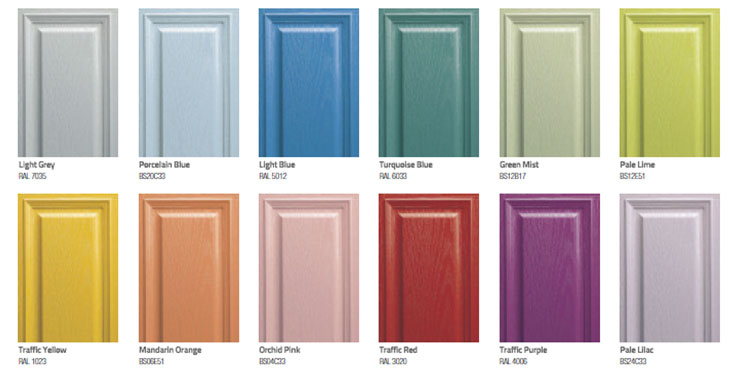 Large Range Of Colour Options